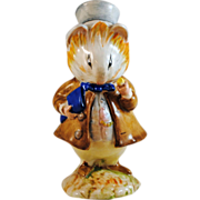 Beswick England Beatrix Potter Amiable Guinea Pig Figurine Gold BP2a Mark
