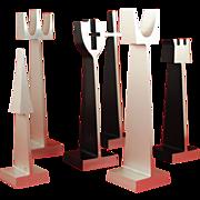 Mid Century Modern  Austin Enterprises ALCOA  Aluminum Chess Set
