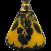 Loetz Richard Cameo Glass Perfume Bottle