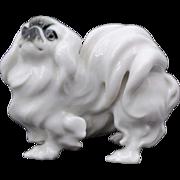 German Hutschenreuther Figure of a Pekingese Dog