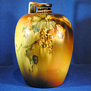 Rookwood Standard Glaze Art Pottery Whiskey Jug 1889 by Albert Valentien