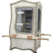 Miniature Sedan Chair Shape Display Cabinet or Jewelry Case