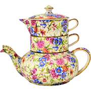 Royal Winton Grimwades Mayfair Chintz Stacking Teapot