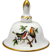 Herend Rothschild Bird Small Bell