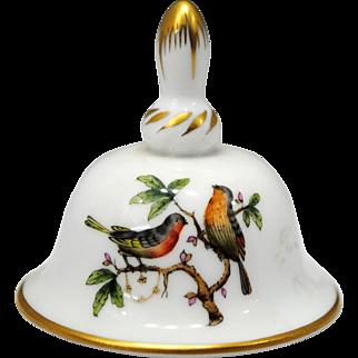 Herend Rothschild Bird Small Bell
