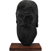 William Mozart McVey (American 1905 – 1995) Bronze Bust of Moses