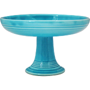 Vintage Fiesta Turquoise Compote or Candy Dish