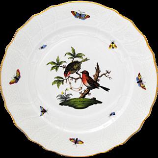 Herend Rothschild Bird 10.25 inch Dinner Plate #5
