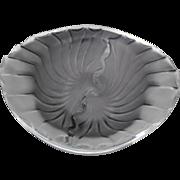 Lalique Nancy Cigar Cigarette Ashtray Bowl