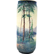 Scenic Hand Painted Pickard Vase by Challinor