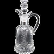 Heisey Pineapple Plantation Vinegar or Oil Bottle Cruet
