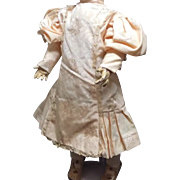 Beautiful drop waist dress for Antique Bisque or German Doll