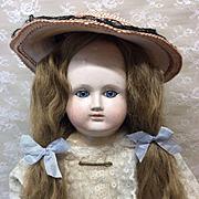 """Rare Antique 22"""" Schmitt et Fils Bebe Paper Mache Doll"""