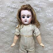 """Petite 13"""" French Etienne Denamur E4D Bisque doll to dress"""