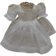 Excellent tagged Madame Alexander Wendy Kins Organdy Dress