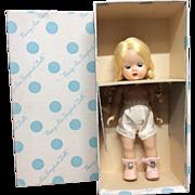 Beautiful Blonde Braid 1953 Strung Muffie in Box