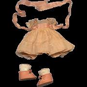 1953 Strung NASB Muffie Dress & Center Snap Shoes