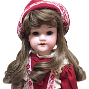 """Armand Marseille 14"""" Bisque Doll Beautifully Dressed Compo Body"""