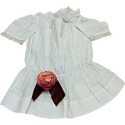 "Beautiful Early Dress for 15-19"" French or German Bisque Doll"