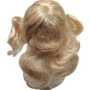 Beautiful Antique Mohair Wig Sz 5 for Bisque Doll