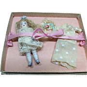 "Beautiful All Bisque  4.5"" Mignonette Doll"