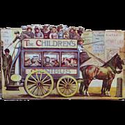 "Darling Small ""The Children's Omnibus"" Book Little Girls & Dolls"
