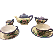 Pretty Vintage Lustre Tea Set for Your Doll