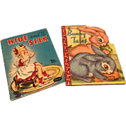 Two Sweet Vintage 1940's Mini Books for Dydee or Similar Doll