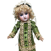 Beautiful Older Dress for French or German Bisque Doll