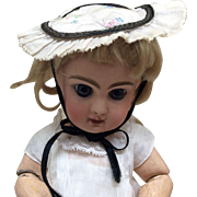 Lovely Old Bonnet For Antique Bisque Head Doll
