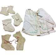 SALE Antique/ Vintage Baby Items for Bisque or Composition Baby Dolls