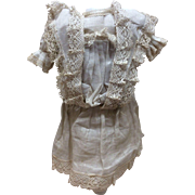 Original Chemise for French or German Bisque Doll