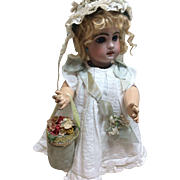 Handmade Vintage Purse or Box for French or German Bisque Doll