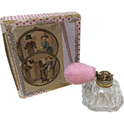 Wonderful Small Old Perfume Bottle for French or German Bisque Doll