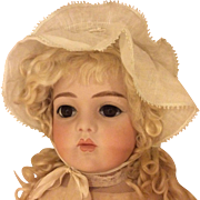 Beautiful Old Bonnet For Antique Bisque Doll