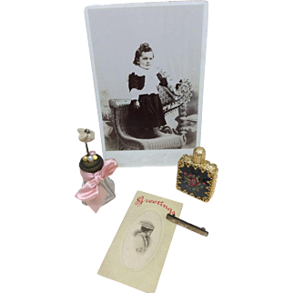 Beautiful Antique & Vintage Items for French Fashion or Other Bisque Doll