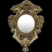 Beautiful Miniature Doll House Metal framed Mirror