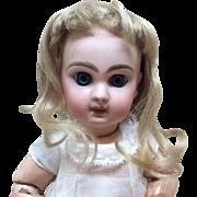 Antique original Jumeau Sz 2 Wig for French Bisque Doll