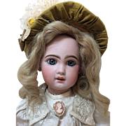 Outstanding Sz 8 Tete Jumeau French Bisque Antique Doll