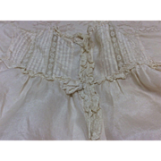 Lovely Silk Blouse for Antique French Or German Bisque doll