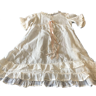 Beautiful Chemise for Large Antique Doll French or German Bisque