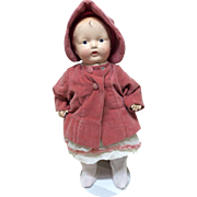 "Horsman Composition 13"" Baby Toddler Doll"