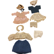 """Clothing for 6-8"""" all bisque Mignonette Doll House French or German dolls"""