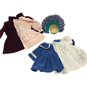 """Vintage clothing for Small 9-11"""" French or German Bisque dolls"""