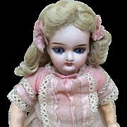 Beautiful Tiny Antique Belton All Original Bisque Doll