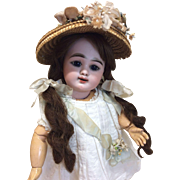 "Amazing Antique French Petite Eden Bebe 14""  Bisque Doll"