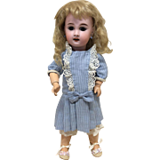 "13"" Petite 1907 Jumeau French Bisque Doll"
