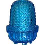 "19th Century Victorian ""Fairy"" Light (blue)"