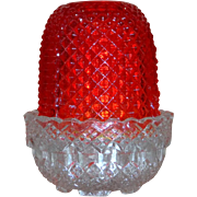 "19th Century Victorian ""Fairy"" Light (red)"