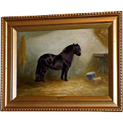 "Portrait of the Pony, ""Flourish,"" by Edith A. Simkins"